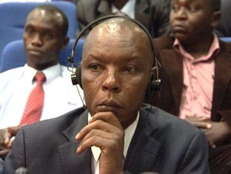 File image of former Mungiki leader Maina Njenga