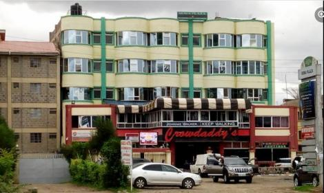 Marcia Hotel located along Mombasa Road
