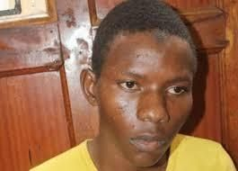 An image of Rashid Charles Mberesero appearing before the court.