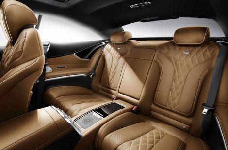 Mercedes Benz S500 2016 interior.