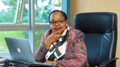 Communications Authority of Kenya Ag. Director-General, Mrs. Mercy Wanjau