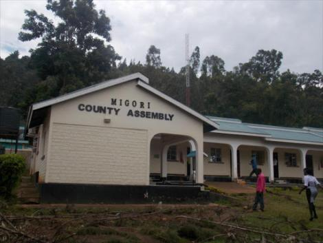 Migori County Assembly building.