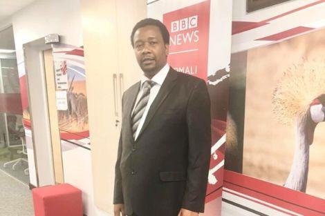 Pastor Godfrey Migwi at BBC Studios in September 2019