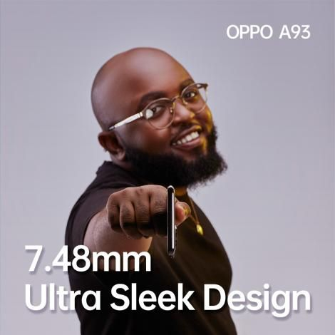 Moji Short Baba with the new OPPO A93