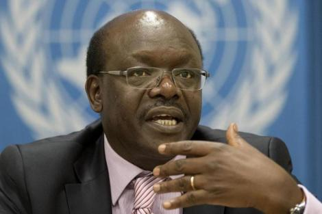 United Nations Conference on Trade and Development (UNCTAD) Secretary-General Mukhisa Kituyi during a past conference.