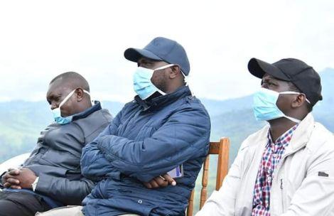 An image of Kipchumba Murkomen, Oscar Sudi and Kangogo Bowen