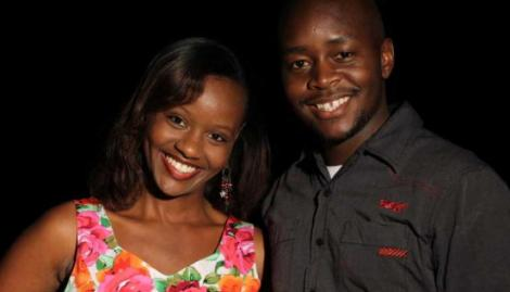 A file photo of actress Wamwirua Musoke and husband Yafesi Musoke