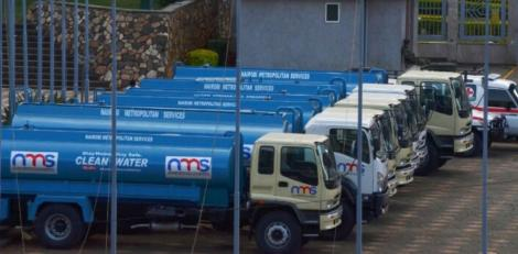 Water browsers procured by NMS in Nairobi
