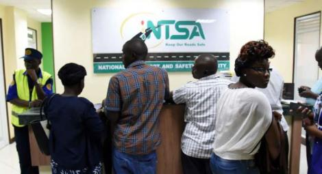 Citizens in the NTSA offices