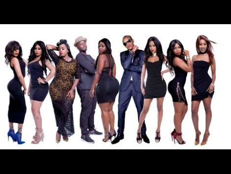 File image of Nairobi Diaries cast members