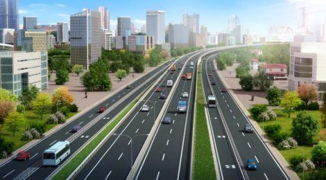 Nairobi Expressway render image.