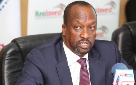 Nairobi Securities Exchange New Board Chairman Kiprono Kittony.