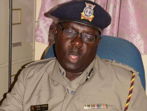 A file photo of Naivasha police boss Samuel Waweru