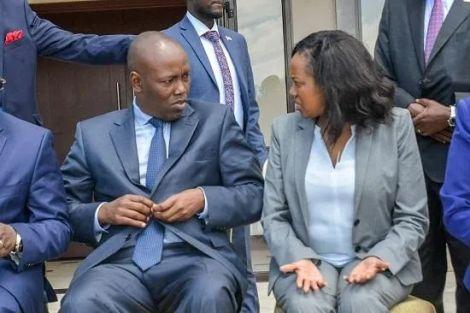 Nakuru County Governor Lee Kinyanjui and Senator Susan Kihika at a past event.