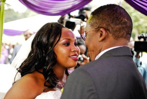 City pastor James Ng'ang'a weds wife Mercy Maina at Windsor Golf Club, Nairobi in 2012