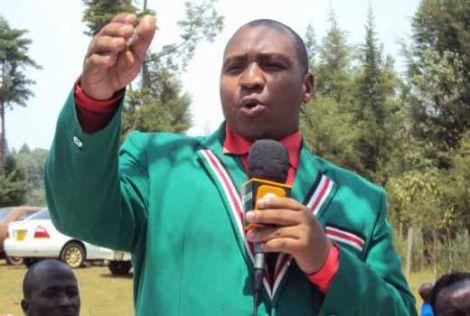 Nominated MP David ole Sankok