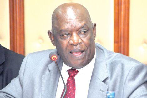 The late Governor of Nyamira, John Nyangarama