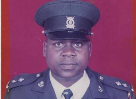 Mlolongo Chief Inspector Stephen Lelei