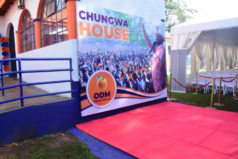 ODM Headquarters in Lavington, Nairobi