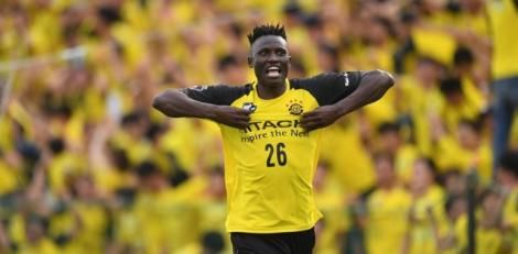 File image of Michael Olunga in action for Kashiwa Reysol