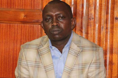 Kapseret MP Oscar Sudi at Milimani Law Courts in Nairobi on October 2016 where he was faced with three counts of forging his academic certificates.