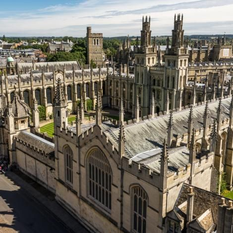 File image of a section of Oxford University