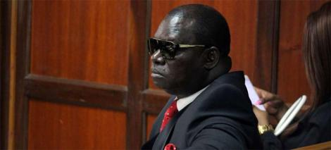 Businessman Paul Kobia pictured in court in May 2019
