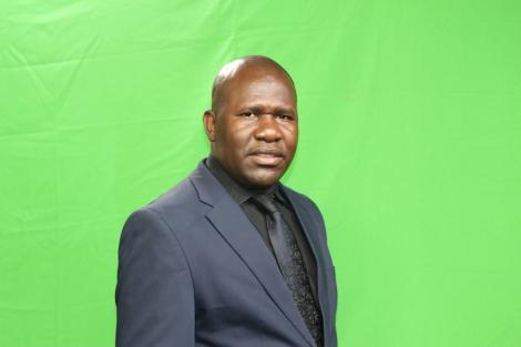 File image of veteran journalist Peter Opondo