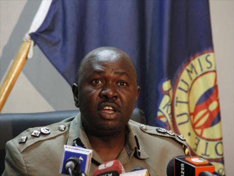 Police spokesperson Charles Owino.