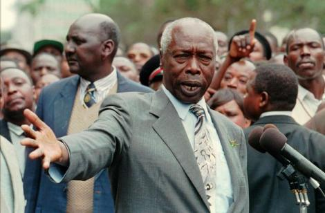 President Daniel arap Moi.