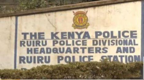 File image of Ruiru Police Station