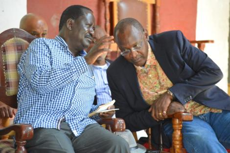 On January 21 when he represented The Head of State at the 25th memorial services of the late Jaramogi Oginga Odinga in Bondo