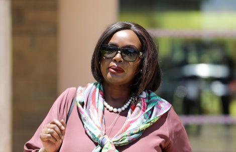 Foreign Affairs Cabinet Secretary Raychelle Omamo