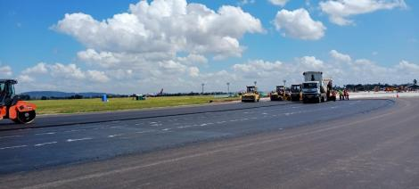 Rehabilitation works at the Moi International Airport in Mombasa.