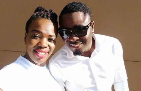 Gospel singer Ruth Matete pictured with her husband BelovedJohn Apewajoye