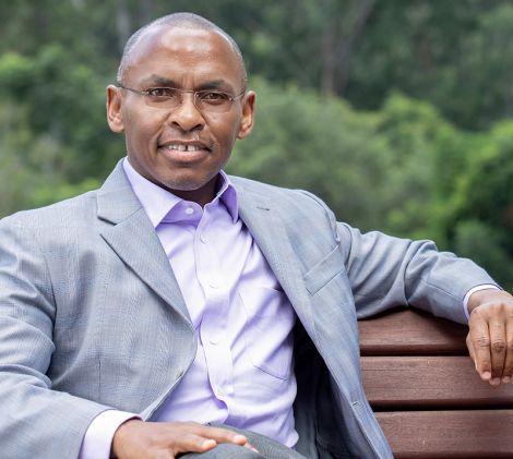 Safaricom CEO, Peter Ndegwa.