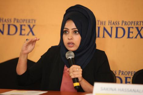 File photo of Hass Consult Head Of Development Consulting & Research Sakina Hassanali.