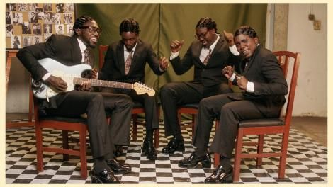 From left: Polycarp Otieno, Savara Mudigi, Bien Aime, and Willis Chimano of Sauti Sol.