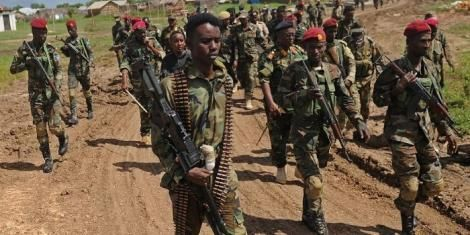 File image of Somali National Army (SNA) soldiers