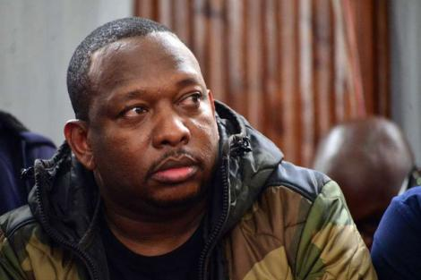 Nairobi Governor Mike Sonko at the Milimani Anti-Corruption Court on December 9, 2019