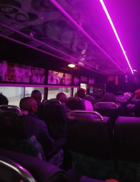 Photo of a Star Bus vehicle full of passengers pictured in Nairobi on Monday, March 23, 2020