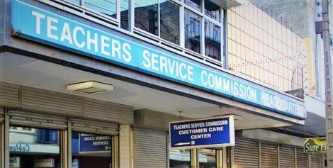Teachers Service Commission headquarters in Nairobi