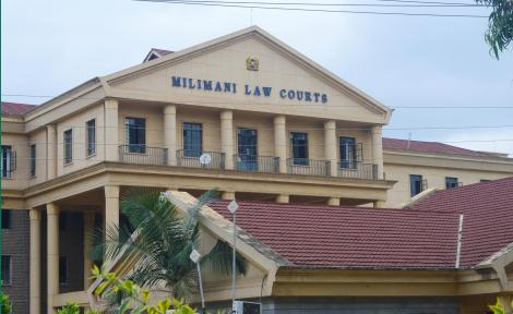 The Milimani Law Courts in Nairobi as pictured on November 18, 2019.