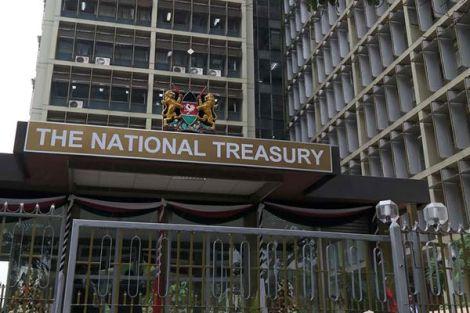 The Ministry of Treeasury building in Nairobi CBD