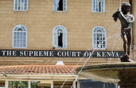 The Supreme Court of Kenya. Thursday, February 20, 2020.