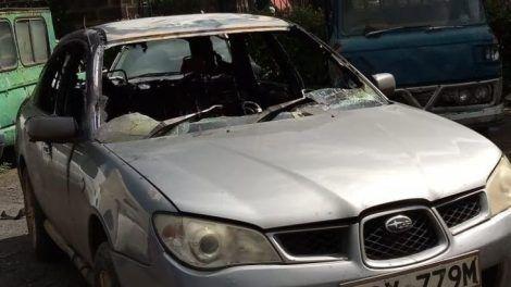 Terrence Korir car burned