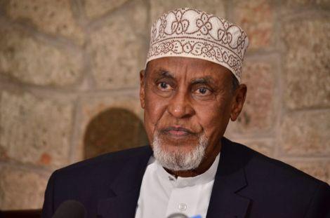 The late Garissa Senator Yusuf Haji