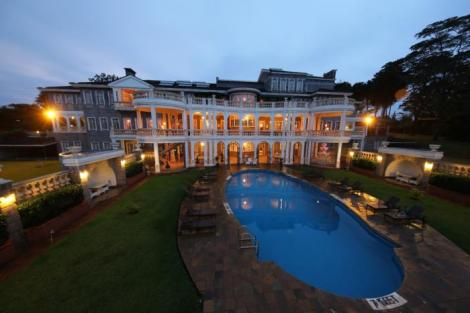The late James Kanyotu's palatial home located in Tigoni, Kiambu county.