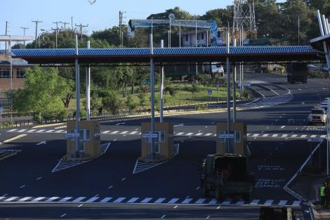 Toll stations erected at the newly built Moyale Border Post