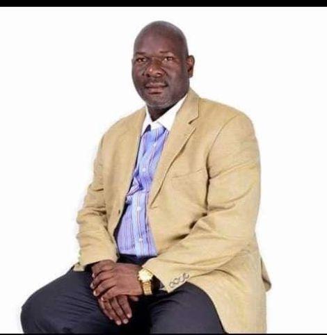 A file photo of the deceased, Tony Waswa Wetangula.